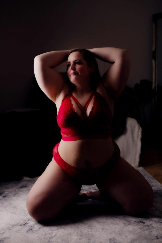 sexet kvinde med former