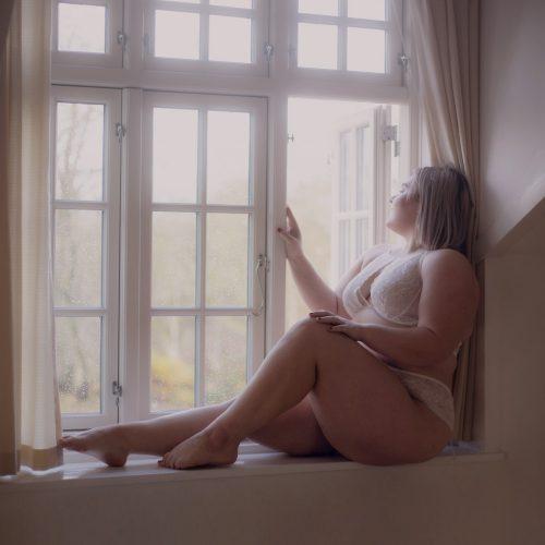 Lingeri model boudoir